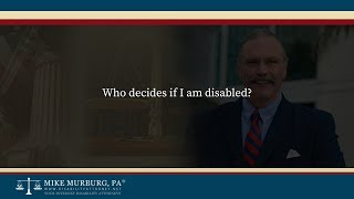 Video thumbnail: Who decides if I am disabled?