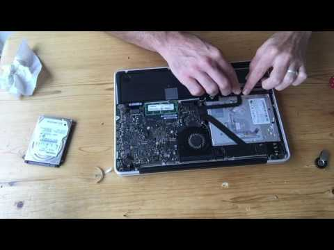 Crucial MX-300 SSD late 2011 MacBook Pro Install