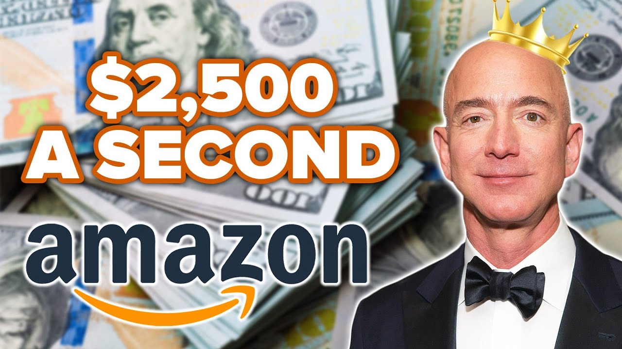How Amazon CEO Jeff Bezos Will Make 1 Million Dollars During This 7 Minute Video thumbnail