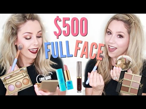 $500 Full Face First Impressions | New Makeup Highend
