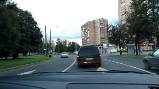 Урок с начинающим водителем. Движение по городу Часть1