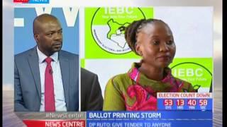 Ballot Printing Storm- Debate