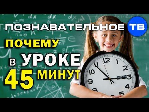 Почему в уроке 45 минут? (Познавательное ТВ, Артём Войтенков)