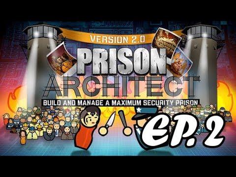 Prison Architect EP.2 (Aumentando a prisão cada vez mais!)