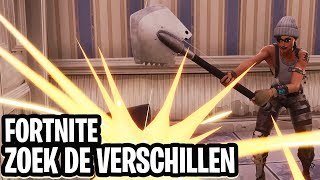 ZOEK DE VERSCHILLEN MINI-GAME!  - Fortnite: Battle Royale Playground (Nederlands)