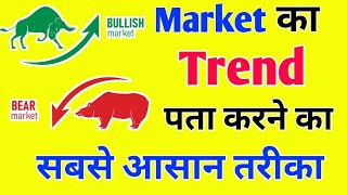 How to find market Trend Easily | Forex and crypto Trading me Trend ko find kaise kare?