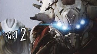 Destiny Gameplay Walkthrough Part 2 - Restoration - Mission 2 (PS4)