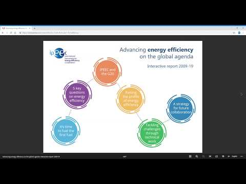 Advancing energy efficiency on the global agenda interactive report 2009-19