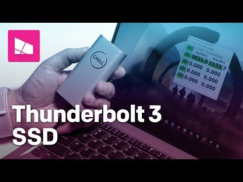 Dell Portable Thunderbolt 3 SSD review: Pricey and powerful storage