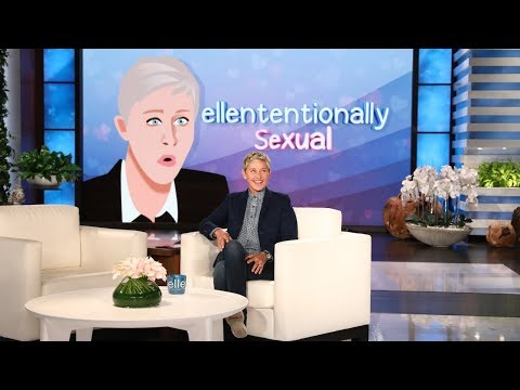 Ellen's 'Ellententionally Sexual' Moments (видео)