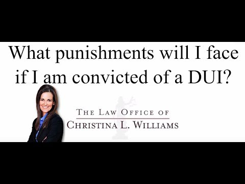 What punishments will I f…