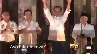 Lagu Goyang 2 Jari Versi Aku Pilih Jokowi