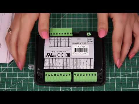 Видеообзор контроллера DKG-207