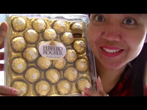 MIss Mary Culinary Food Review 107  Ferero Rochere Chocolate BR TiVi 5151