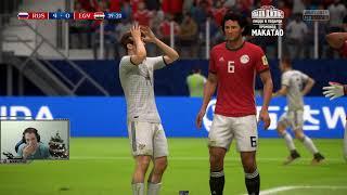 Россия-Египет у Макатая / Первый раз играю в FIFA 18
