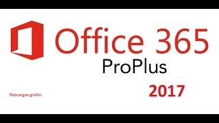 descargar microsoft office 2017 gratis