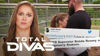 "Ronda Rousey Feels Pregnancy Pressure: ""Total Divas"" Recap (S9, Ep1) | E!"