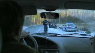 Video Film Verkehrskontrolle: Bitte Pusten!