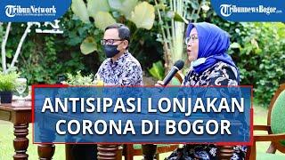 Antisipasi Lonjakan Pasien Covid-19 di Bogor, Bima Arya dan Ade Yasin Kordinasi Cari Tempat Isolasi