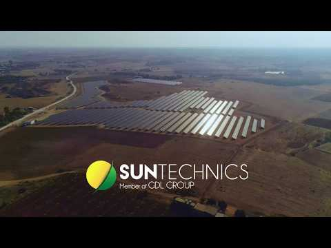 Frenaros, the largest photovoltaic park in Cyprus