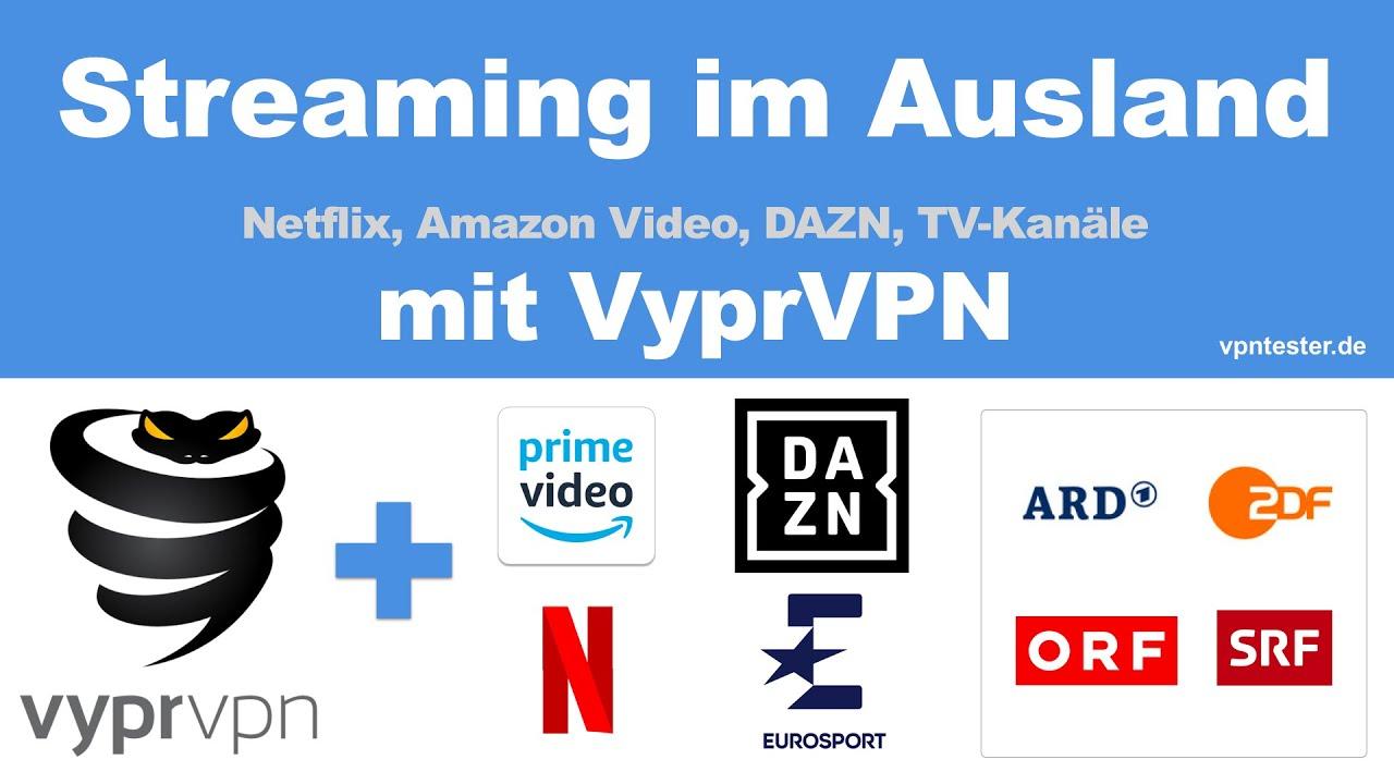 Testbericht VyprVPN 2021 - Top für Streaming von DAZN, Netflix etc. 2