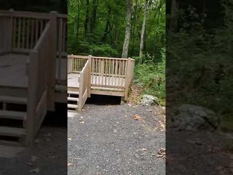 Adventurous rocky walk up to 30, easy gravel walk down through 29