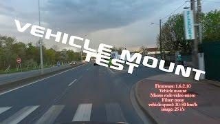 Dji Osmo Vehicle Mount test