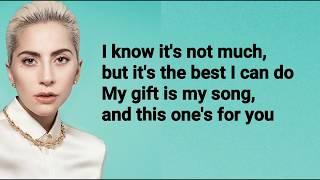 LadyGaga-YourSongLyrics