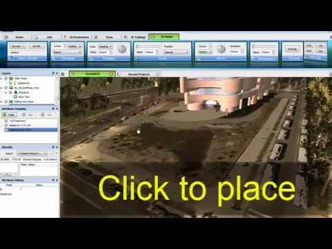 Key Features | Geoweb3d - 3D GIS Visualization