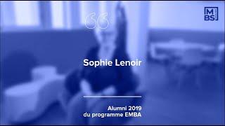 Le retour d'expérience de Sophie, diplômée de l'Executive MBA de MBS