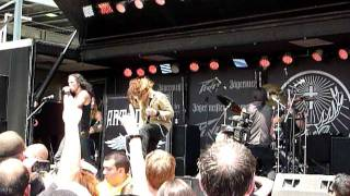 """Art of Dying """"You Don't Know Me"""" Rock On The Range 2011, Columbus, OH, live"""