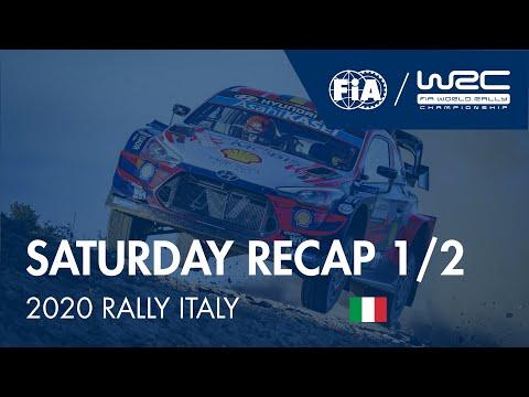 WRC ラリー・イタリア・サルディニア 土曜日に行われたラリーダイジェスト動画1