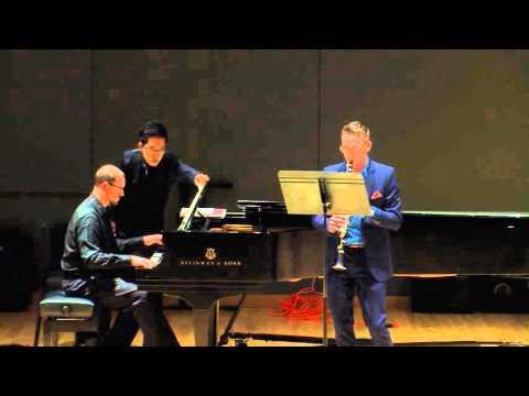 Première rhapsodie, Claude Debussy Bradley Frizzell, clarinet