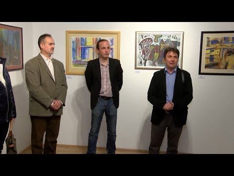 A Lácacsékei Művésztelep alkotásaiból nyílt kiállítás Sátoraljaújhelyen