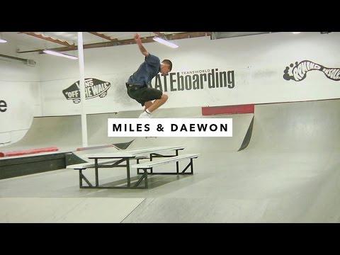TWS Park: Miles Silvas and Daewon Song | TransWorld SKATEboarding
