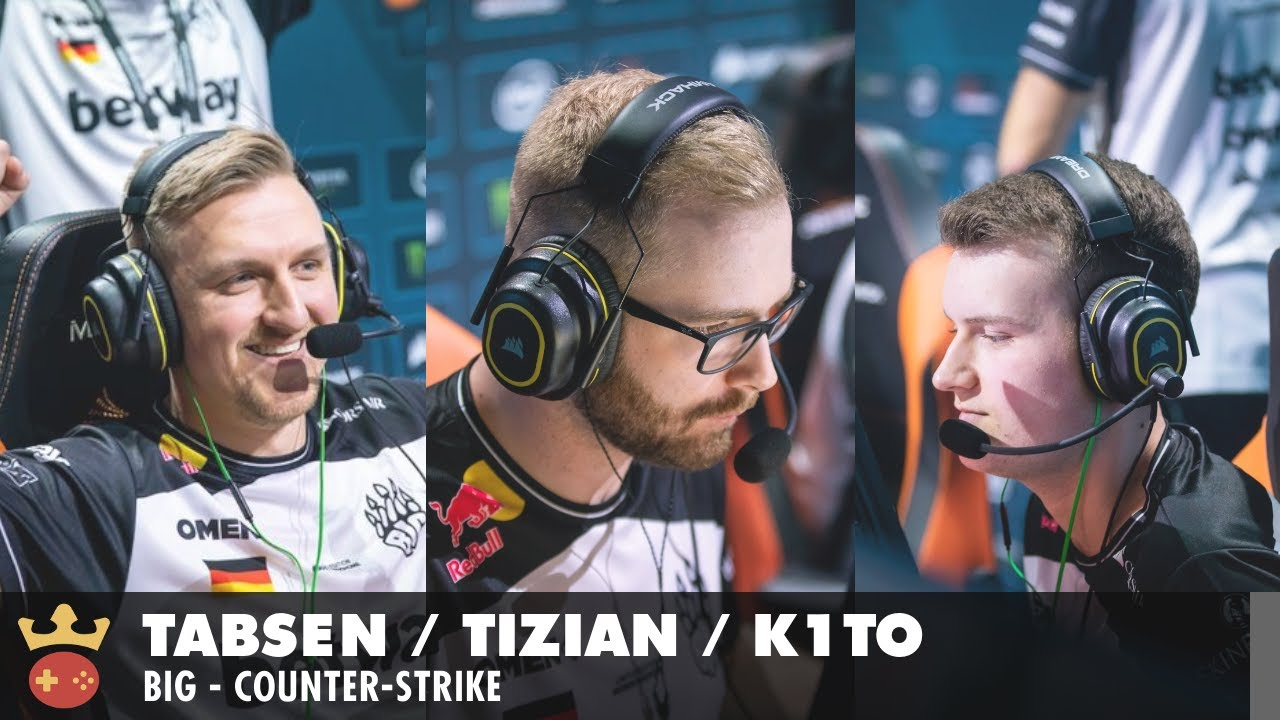 Video of Interview with tabseN, tiziaN, and k1to from BIG at IEM Cologne 2021