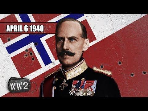 Německá armáda vyráží k Norsku
