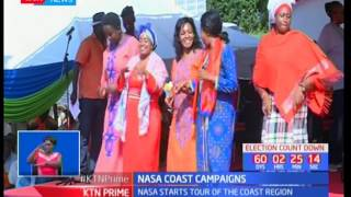 NASA and Jubilee cross hairs as they ask Kenyans to vote for them: KTN Prime pt 2