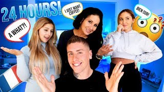 I SPOKE ONLY in FRENCH to my FAMILY FOR 24 HOURS!!! **HILARIOUS**