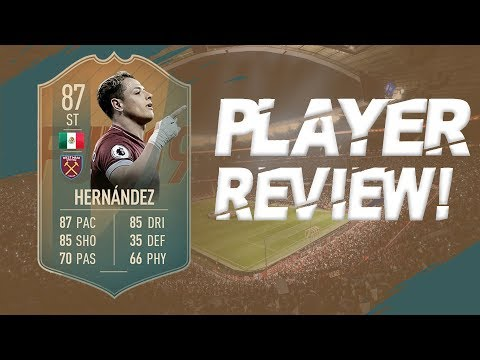 FLASHBACK SBC JAVIER HERNANDEZ PLAYER REVIEW FIFA 19