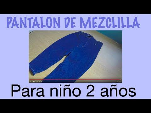 PANTALON DE NIÑO DE 1A 3 años