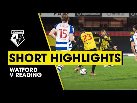 STUNNING SARR GOALS! | WATFORD 2-0 READING | SHORT HIGHLIGHTS