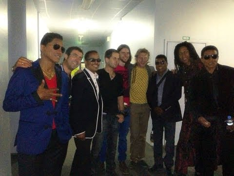 The Jacksons and Kevens at The Ice Palace in St. Petersburg Russia