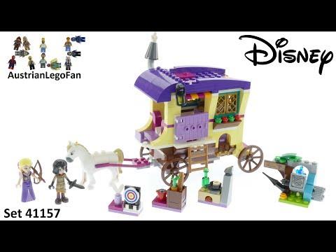 Vidéo LEGO Disney 41157 : La caravane de Raiponce