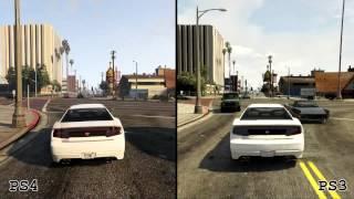 GTA V: Grafikvergleich PS4 & PS3