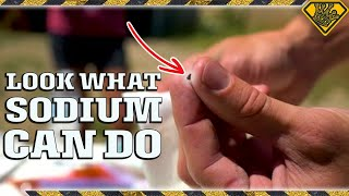 Watch What A Little Sodium Metal Can Do
