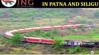 Get Remarkable Medical Care Train Ambulance Service in Patna by King