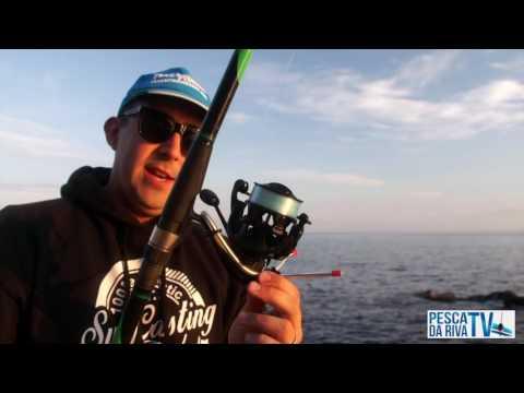 Marzo pescando su un rybinka