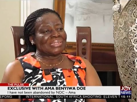 Exclusive with Ama Benyiwa Doe - The Pulse on JoyNews (24-7-18)