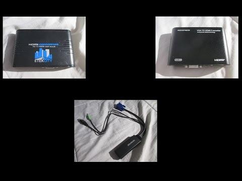 VGA to HDMI Converter Comparison